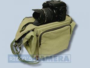 Tasche für Fujifilm FinePix SL1000 SL300 SL260 - Fototasche K-21 K 21 K21 khaki - 1