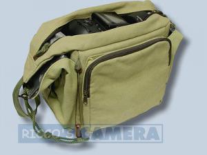 Tasche für Fujifilm FinePix SL1000 SL300 SL260 - Fototasche K-21 K 21 K21 khaki - 3