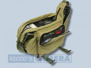 Tasche für Fujifilm FinePix SL1000 SL300 SL260 - Fototasche K-21 K 21 K21 khaki - 4