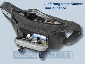 Tasche für die Fujifilm Finepix SL1000 SL300 SL260 - Kalahari K-21 K21 ORAPA Canvas schwarz K 21 K21 black k21b - 1