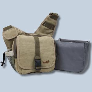 Tasche für Panasonic Lumix DMC-FZ2000 DMC-FZ300 DMC-FZ1000 II DMC-FZ200 DMC-FZ150  - Kalahari KIKAO K-51 Fototasche Canvas - 3