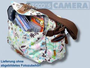 Tasche für Sony Alpha NEX-7 NEX-5N NEX-5 NEX-C3 NEX-3 und Zubehör - Fototasche Kalahari K-41 K41 Molopo Flower K 41 K41f - 2