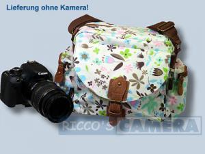Tasche für Sony Alpha NEX-7 NEX-5N NEX-5 NEX-C3 NEX-3 und Zubehör - Fototasche Kalahari K-41 K41 Molopo Flower K 41 K41f - 4