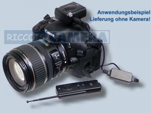 Funk-Fernauslöser Pentax K-50 K-7 K200D K20D K110D K100 K10D Funkfernauslöser Fernbedienung Remote Controller kompatibel RS-60E3 - 2