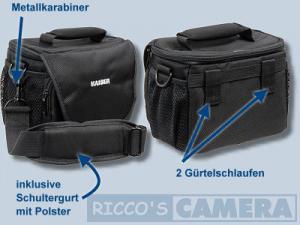 Tasche für Olympus OM-D E-M1 Mark II OM-D E-M5 Mark II OM-D E-M10 OM-D E-M1 OM-D E-M5 E-520 E-510 E-500 -  Kameratasche Kaiser S - 2