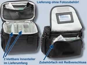 Tasche für Panasonic Lumix DC-GH5S DMC-GH5 GH4 GH3 GH2 GH1 -  Kameratasche Kaiser SmartLoader L für Systemkameras und DS - 1