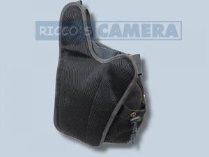 Tasche für Pentax X-5 X5 - Kalahari KIKAO K-51 Fototasche Canvas schwarz für Spiegelreflexkamera Systemkamera Evilkamera k51b - 2