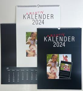 Fotokalender 2020 A3 Großformat für große Fotos bis 20x30 zum selbstgestalten - Bastelkalender selber gestalten - 1