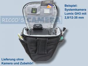 Halfter Fototasche für Fujifilm FinePix S1 SL1000 SL300 SL260  S.1 - Kameratasche Colttasche Tasche Bereitschaftstasche yhs - 4