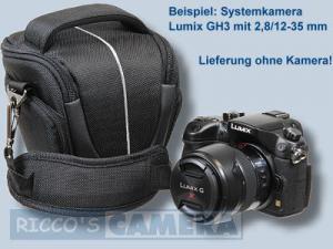 Halfter Fototasche für Sony Alpha 6500 6300 6000 5000 NEX-3N NEX-3 NEX-6 NEX-F3 NEX-7 - Kameratasche Colttasche Tasche Bereitsch - 1