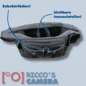 Fototasche für Nikon Coolpix P900 P610 P600 P530 P7800 P520 P7700 P7100 P7000 P510 - Tasche Kameratasche mb1 - 2
