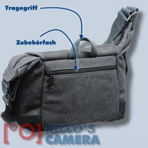 Fototasche für Pentax K-70 K-r K-7 K-5 K-5 IIs K-5 II K-m K-x K20D K10D K200D K110D K100D super K100D - Tasche Kameratasche mb1 - 1