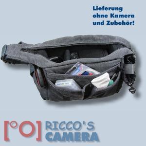 Fototasche für Sony Alpha 6500 6300 6000 5000 NEX-5T NEX-3N NEX-7 NEX-6 NEX-5R NEX-5N 5N F3 C3 - Tasche Kameratasche mb1 - 3