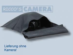 Kalahari Microfaser Schutztasche Magic-Pocket schwarz Reinigungstuch Einschlagtuch 26 x 48 cm - 1