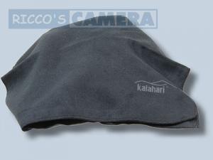 Kalahari Microfaser Schutztasche Magic-Pocket schwarz Reinigungstuch Einschlagtuch 26 x 48 cm - 3