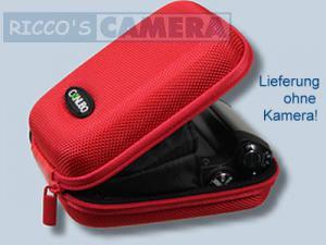 Fototasche in rot für Panasonic Lumix DMC-LF1 LF-1 - Tasche in rot Kameratasche Hardcase 20r - 2