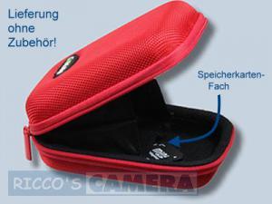 Fototasche in rot für Panasonic Lumix DMC-LF1 LF-1 - Tasche in rot Kameratasche Hardcase 20r - 3