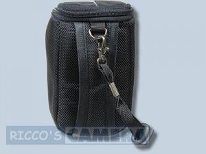 Kameratasche für Panasonic Lumix DMC-LF1 LF-1 - Tasche schwarz silber Fototasche dym - 1