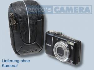 Kameratasche für Panasonic Lumix DMC-LF1 LF-1 - Tasche schwarz silber Fototasche dym - 2