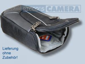 Kameratasche für Panasonic Lumix DMC-LF1 LF-1 - Tasche schwarz silber Fototasche dym - 3