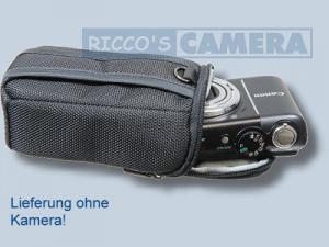 Kameratasche für Panasonic Lumix DMC-LF1 LF-1 - Tasche schwarz silber Fototasche dym - 4