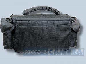 Dörr Action Black No.4 Kameratasche mit Platz für Zubehör - Fototasche für Spiegelreflexkamera Bridgekamera Systemkamera no4 - 1