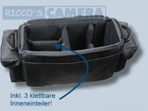 Dörr Action Black No.4 Kameratasche mit Platz für Zubehör - Fototasche für Spiegelreflexkamera Bridgekamera Systemkamera no4 - 2