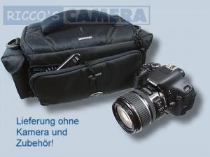 Dörr Action Black No.4 Kameratasche mit Platz für Zubehör - Fototasche für Spiegelreflexkamera Bridgekamera Systemkamera no4 - 4