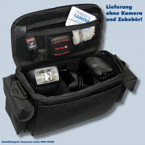 Fototasche für Panasonic Lumix DMC-FZ2000 FZ1000 II FZ300 FZ200 FZ150 FZ100 FZ50 FZ30 FZ20 - Kameratasche Tasche no4 - 3