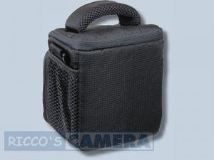 Dörr Action Black No.1 Kameratasche mit Platz für Zubehör - Fototasche für Bridgekamera Systemkamera Evilkamera Digitalkamera Ta - 1