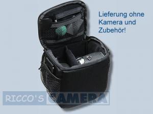 Dörr Action Black No.1 Kameratasche mit Platz für Zubehör - Fototasche für Bridgekamera Systemkamera Evilkamera Digitalkamera Ta - 3