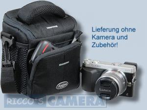 Dörr Action Black No.1 Kameratasche mit Platz für Zubehör - Fototasche für Bridgekamera Systemkamera Evilkamera Digitalkamera Ta - 4