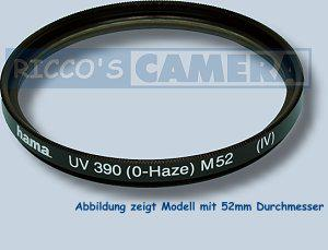 UV Filter 390 (O-Haze) 43mm UV-Filter 43 mm Hama 70143