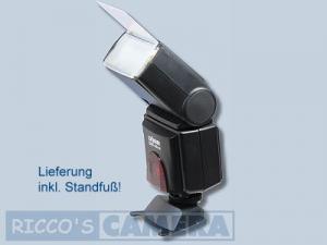 Blitzgerät für Canon EOS 77D 70D 50D 40D 30D 20D 20Da 10D - Dörr Blitzgerät DAF-44 Wi Power Zoom Blitz 44c - 1