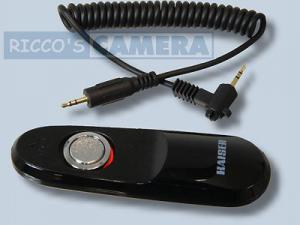 Kabel-Fernauslöser für Pentax K-50 K-7 K200D K20D K110D K100 K10D istD istDs istDL - Kaiser MonoCR-C2 wie RS-60E3 CS-205 - 1