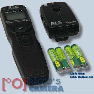 Multifunktion Funk-Auslöser mit 100m Reichweite für Panasonic Lumix DC-G91 DC-G9 DMC-G81 GX8 G70 GX7 G6 kompatibel zu DMW-RSL1 - 1