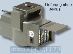 Stativkopf mit Fernbedienung 340 Grad IR inkl. Infrarot-Fernbedienung und Kabel-Fernbedienung Pan Tilt Kopf / Motor Schwenkkopf - 2