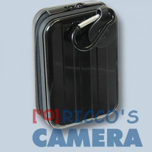 Hama Hardcase Metal-Style 60h schwarz Fototasche für Kompaktkameras Tasche 60hs - 1