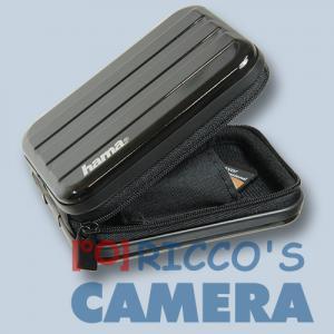 Hama Hardcase Metal-Style 60h schwarz Fototasche für Kompaktkameras Tasche 60hs - 2