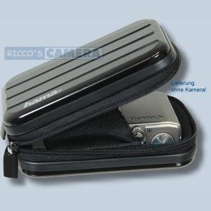 Hama Hardcase Metal-Style 60h schwarz Fototasche für Kompaktkameras Tasche 60hs - 4