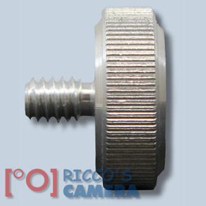 Hama Geräteschrauben Metall Gewinde/Anschluss 1/4 Zoll 6,4 mm Metal Camera Screws 5124 einzeln - 2