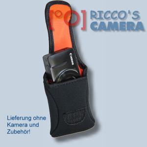 Neoprentasche für Panasonic Lumix DMC-FT4 DMC-FT3 DMC-FT2 DMC-FT1 DMC-FT10 - Fototasche Kameratasche Tasche schwarz s3n - 3
