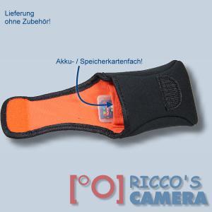 Neoprentasche für Panasonic Lumix DMC-ZX3 DMC-ZX1 DMC-LF1 - Fototasche Kameratasche Tasche schwarz s3n - 2