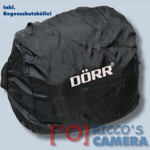 Kameratasche für Panasonic Camcorder HDC-HS80 HDC-SD99 HDC-SD80 HDC-SD40 HDC-TM80 - Fototasche in rot Tasche mit Regenschutz dnl - 2