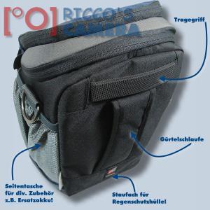 Halftertasche für Sony Alpha 9 7R III 7 III 7S 7 7R 77 II 77 - Holster-Tasche dunkelblau Fototasche Kameratasche Colt B - 1