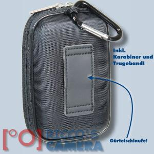 Hardcase Tasche für Canon Powershot G9 X Mark II SX620 SX720 G9 X SX610 SX710 SX600 SX700 Fototasche Kameratasche schwarz ybxls - 1