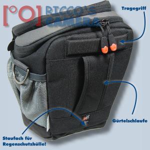 Halftertasche für Nikon D90 D80 D60 D50 D40 D40x - Holster-Tasche in schwarz Bereitschaftstasche Fototasche Kameratasche Colt Ba - 1