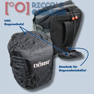 Halftertasche für Nikon D90 D80 D60 D50 D40 D40x - Holster-Tasche in schwarz Bereitschaftstasche Fototasche Kameratasche Colt Ba - 2