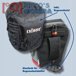Halftertasche für  Nikon D90 D80 D60 D50 D40 D40x  - Holster-Tasche in rot Bereitschaftstasche Fototasche Kameratasche Colt Bag - 2