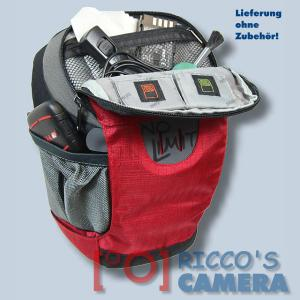 Halftertasche für Olympus E-520 E-510 E-420 E-410 E-400 E-330E-300 E-100RS E-500 - Holster-Tasche in rot Bereitschaftstasche Fot - 3